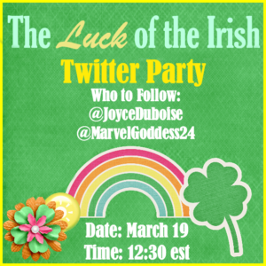 The Luck of the Irish Twitter Party Button