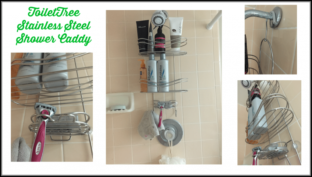 ToiletTree Stainless Steel Shower Caddy