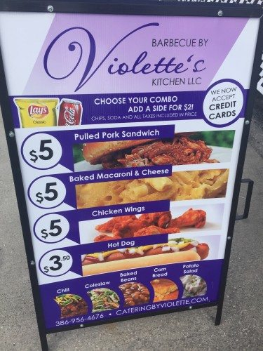 Violette's Kitchen Sign
