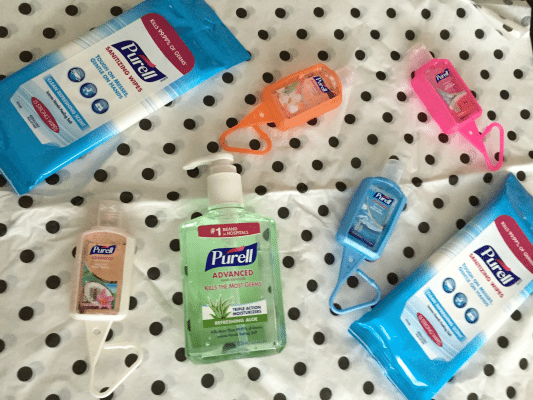 A Little Prevention Goes a Long Way with Purell