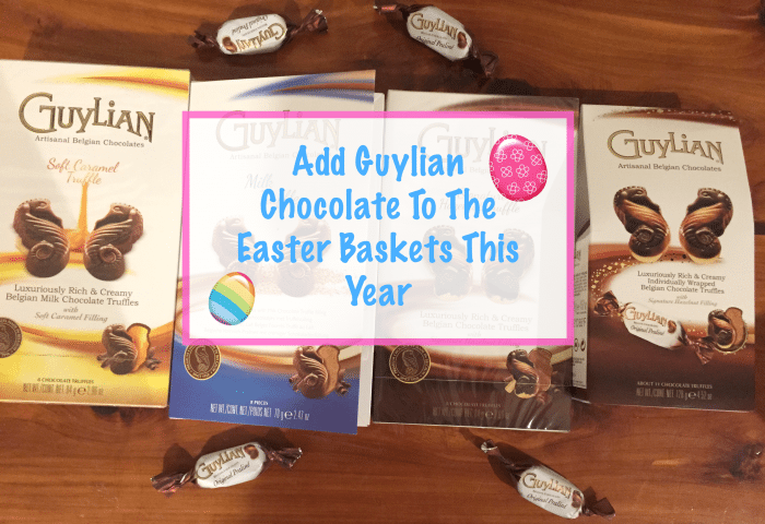 Add Guylian Chocolate To The Easter Baskets This Year