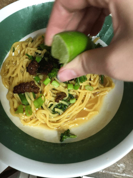 Adding the Lime