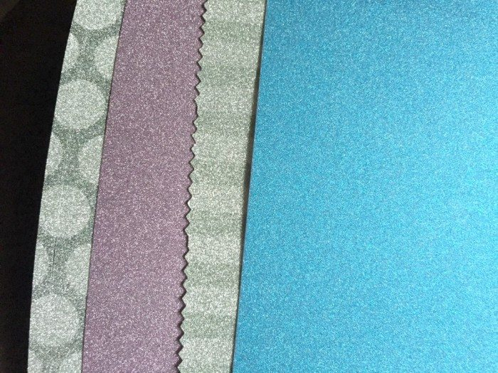 American Crafts Pow! Glitter paper from Blick