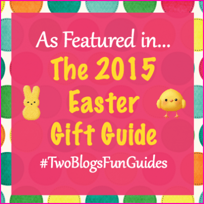 As Featured In #TwoBlogsFunGuides 2015 Easter Gift Guide Button