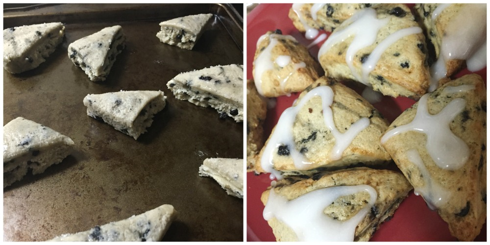 Blueberry Scones from Barista Bakery Company