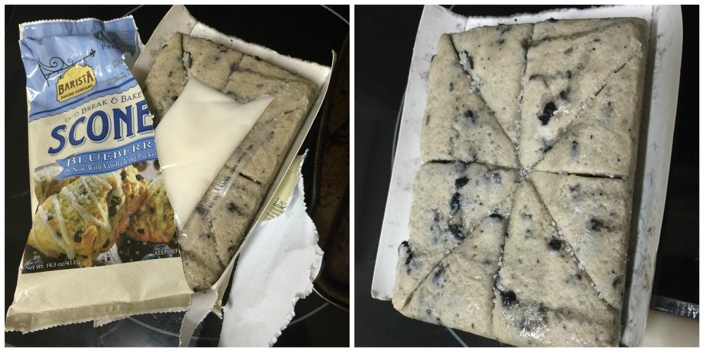 Break N Bake Blueberry Scones
