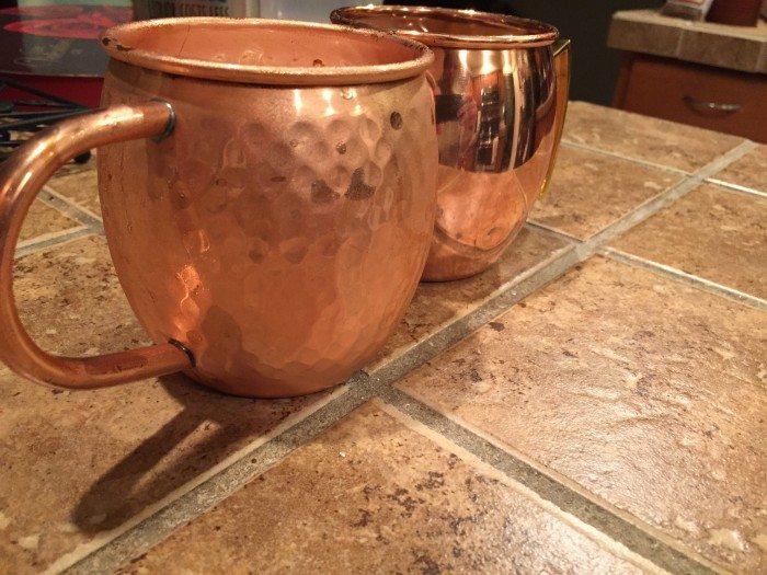 Copper Mugs 2
