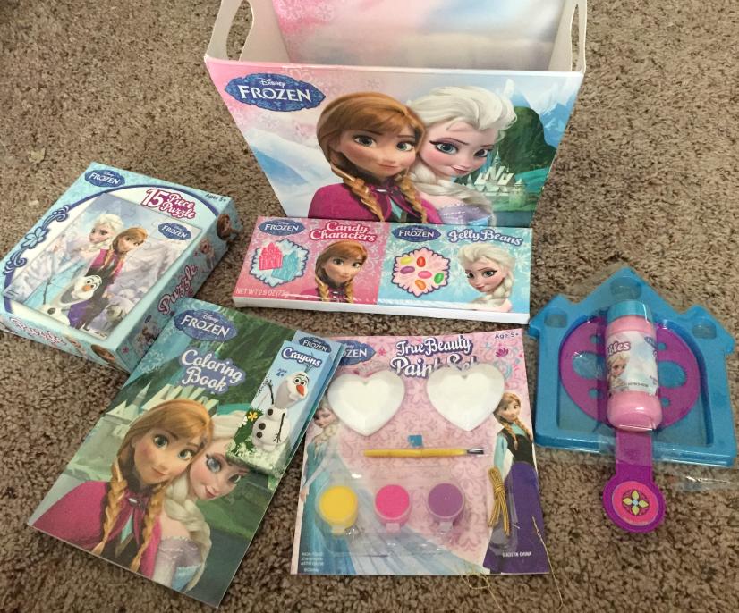 Disney Frozen Easter Basket