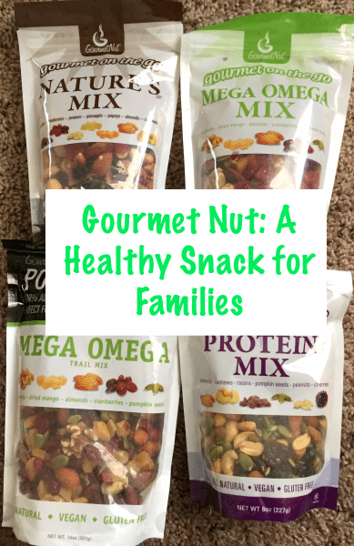 Gourmet Nut A Healthy Snack for Families