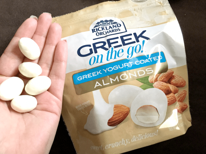 Rickland Orchards Greek On The Go Snacks Almonds