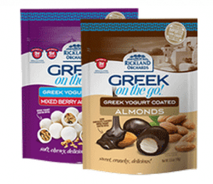 Rickland Orchards Greek On The Go Snacks