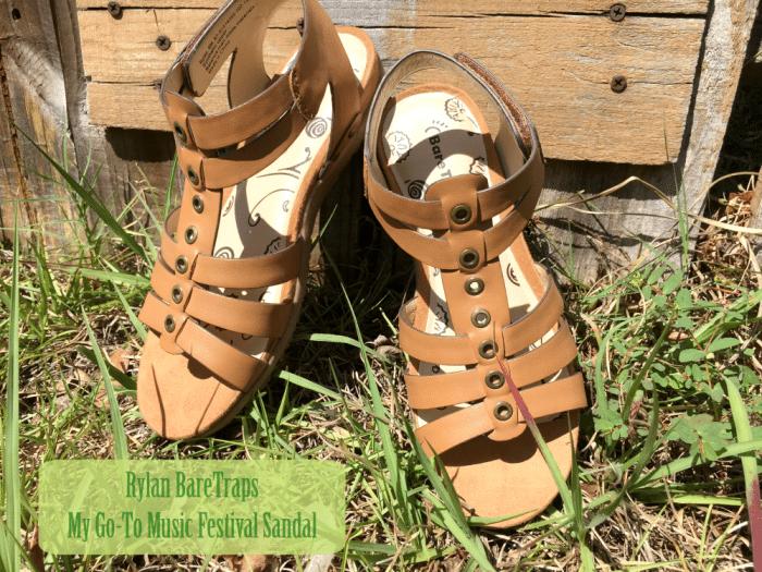 Rylan BareTraps- My Go-To Music Festival Sandal
