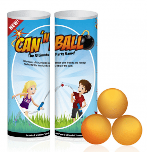 CAN N BALL: THE ULTIMATE TOSSING GAME REVIEW AND VIDEO