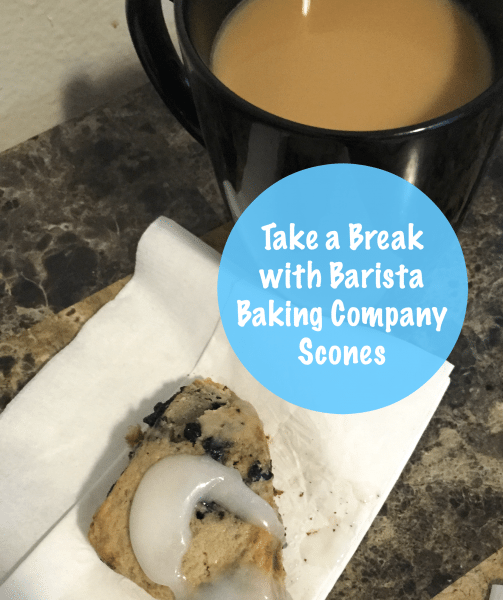 Take a Break with Barista Baking Company Scones and Community Coffee