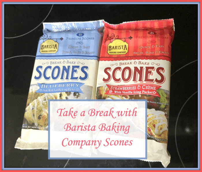 Take a Break with Barista Baking Company Scones
