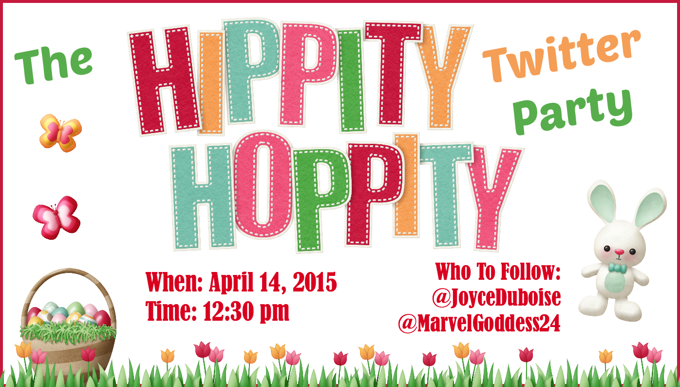The Hipptiy Hoppity Twitter Party Featured Image