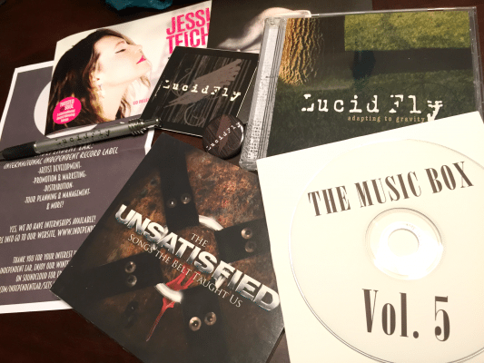 The Music Box Subscription March 2015 #MusicMonday