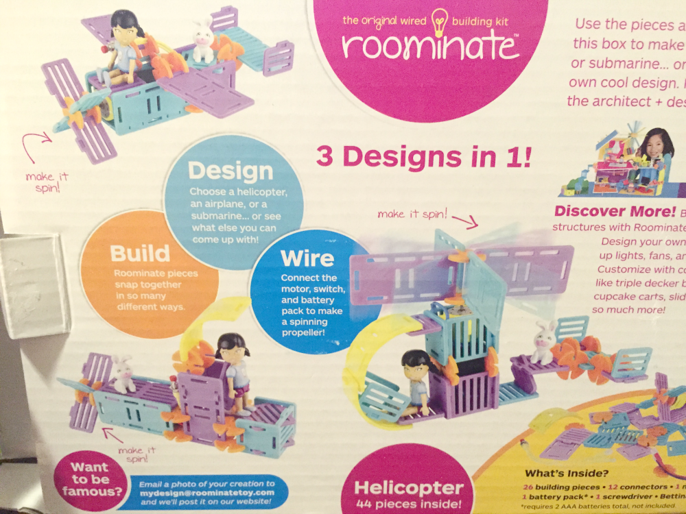 The Roominate 3-in-1 Helicopter