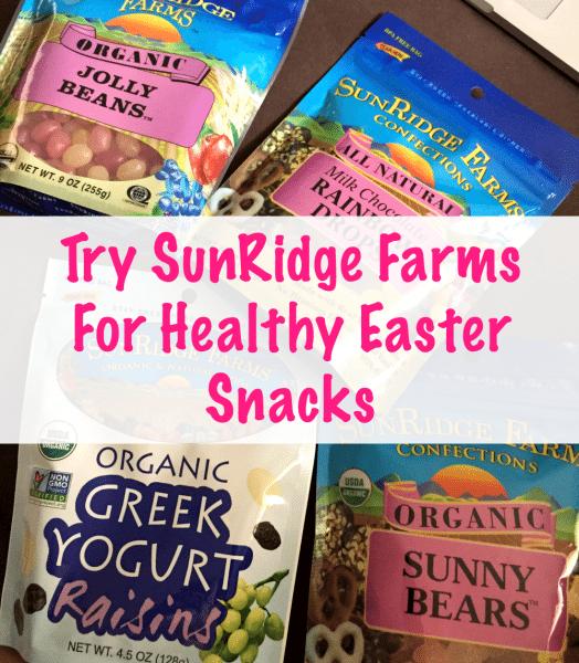 Try SunRidge Farms For Healthy Easter Snacks