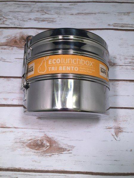 Tri Bento Stainless Steel Lunch Box GlobeIn