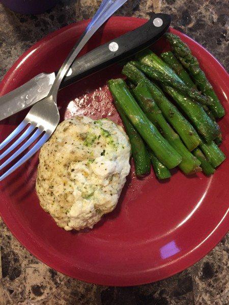 Nutrisystem Results - Broccoli & Cheese Stuffed Chicken
