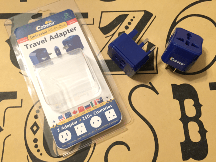 5. 4-in-1 Universal Travel Adapter