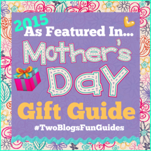 As Featured Mother's Day Gift Guide Button