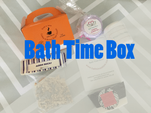 Bath Time Box Featured Image
