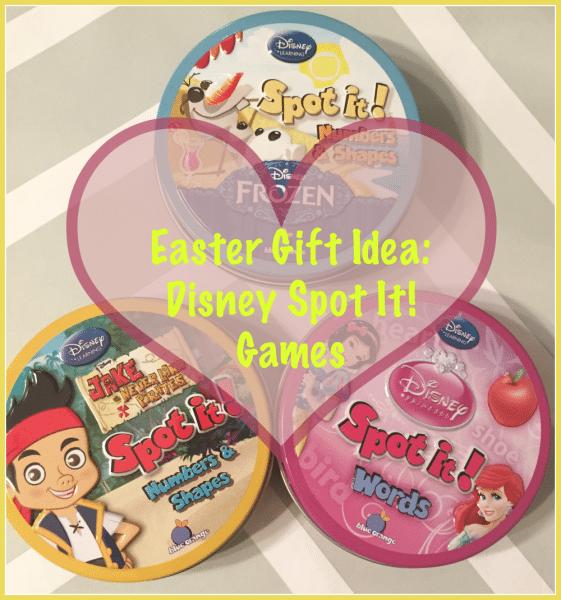 #Easter Gift Idea Disney Spot It! Games