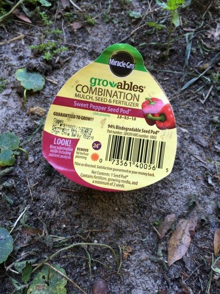 Groables Sweet Pepper Seed Pod