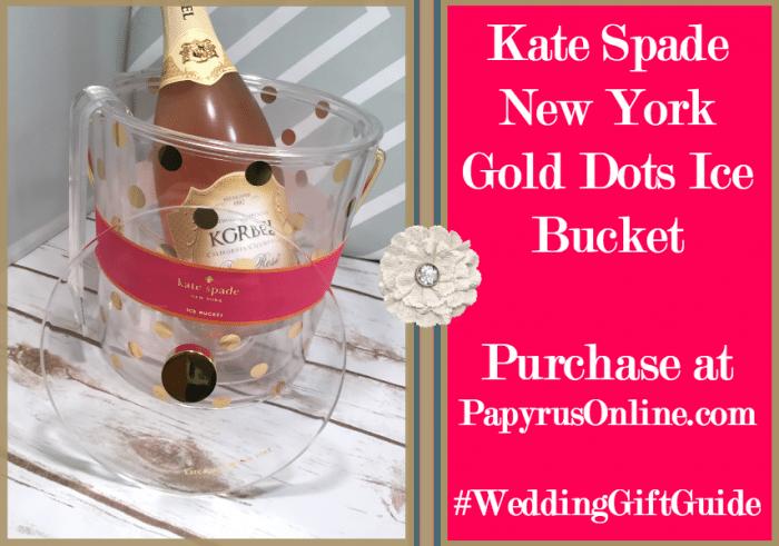 Kate Spade Ice Bucket Pic