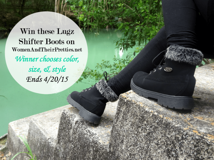 Lugz Shifter Boots Giveaway