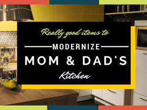 MODERNIZE mom & Dads Kitchen