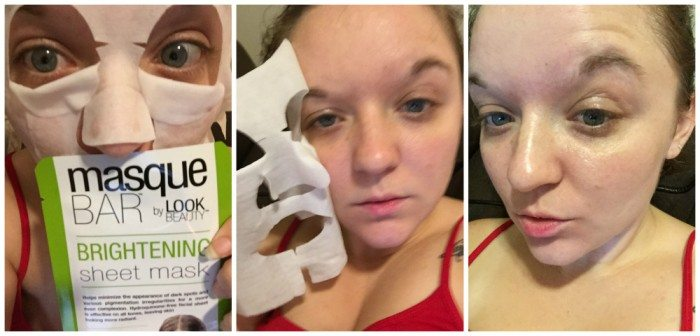 Masque Bar Brightening Sheets By Look Beauty