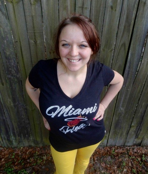 Miami Heat 47 Brand Aparell for her