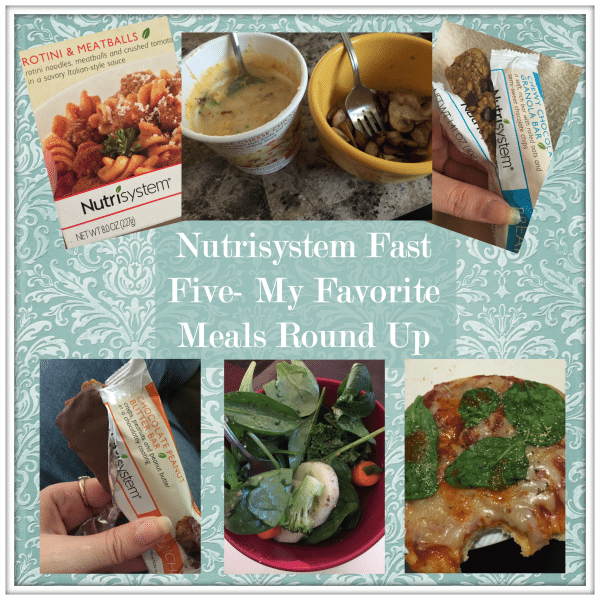 Nutrisystem Fast Five Roundup