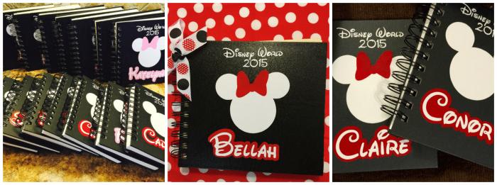 Personalized Disney Autograph Books