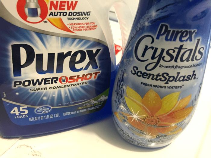 Purex Crystsls and Purex Powershot