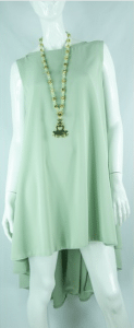 Mint Floaty Dress