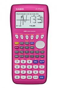 Hot Pink Casio Graphing Calculator