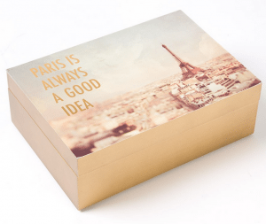 Paris Jewelry Box