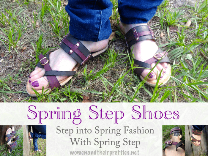 Step into Spring Fashion With Spring Step