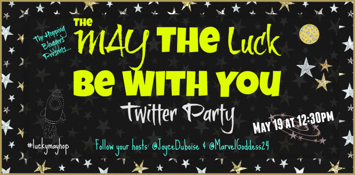 The May The Luck Be With You Twitter Party Featured Image