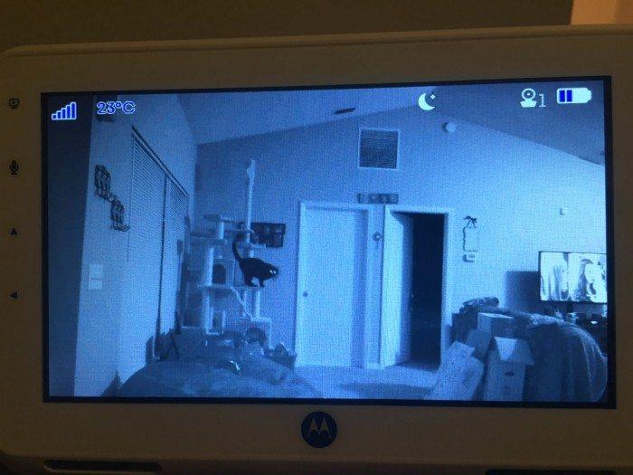 The Motorola Digital Video Monitor Up Close