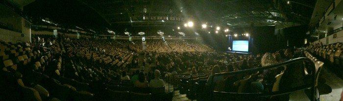 UCF Arena Panoramic Shot