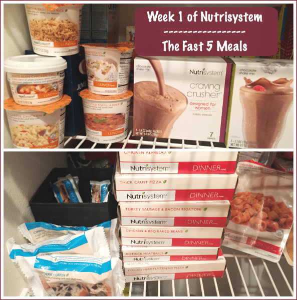 Week 1 of Nutrisystem Meals Fast 5 #NSnation #NSNationBlogger #Ad #Sponsored