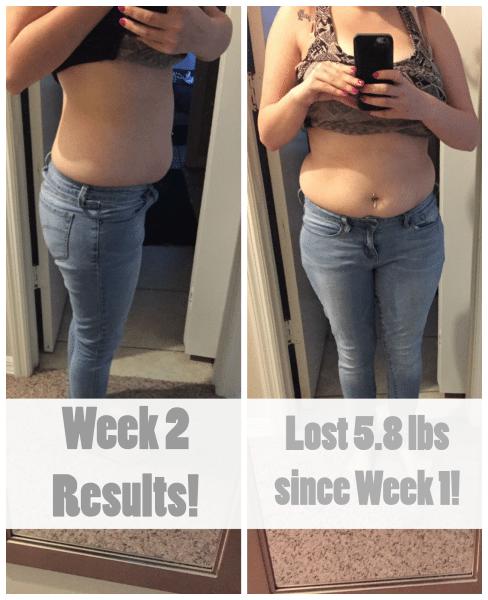 Week 2 Nutrisystem Results