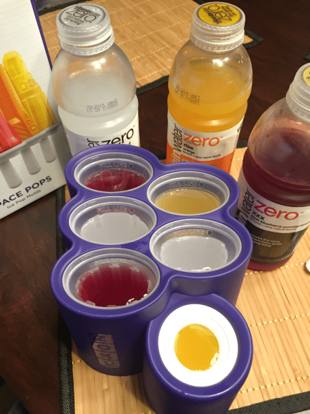 Zoku Space Pop Molds with Vitamin Water