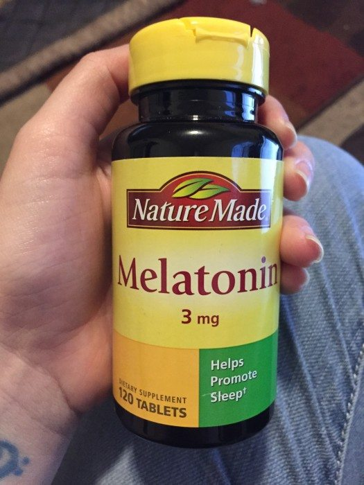 Nature Made Melatonin 3 mg Tablet