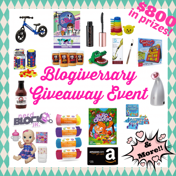 Blogiversary Prize Graphic